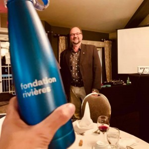 Souper-bénéfice 2019 - Alain Saladzius, président Fondation Rivières
