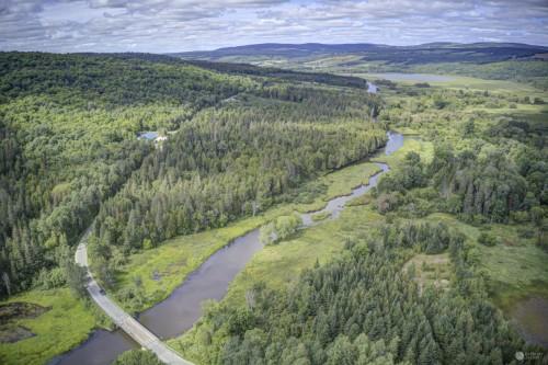Rivière Au Pin -Pont À Chevilles Irlande QC - En aval Étang Stater #1