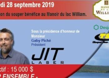COURRIER FRONTENAC - UN 3e SOUPER-BÉNÉFICE AU PROFIT DE L'APLTI