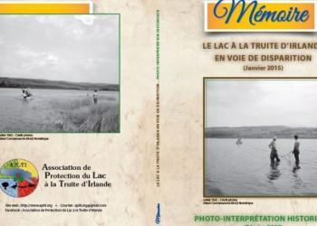 250 BROCHURES - LE LAC À LA TRUITE D'IRLANDE EN VOIE DE DISPARITION (Janvier 2015)
